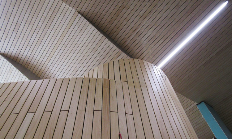How to build a wavy ceiling. Realisation step by step